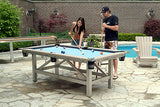 Outdoor 8 Ball Residential Pool Table Play