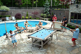 Outdoor 8 Ball Residential Pool Table Family Play