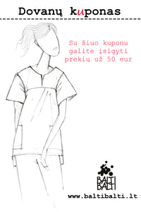 Gift Certificate - 50 €