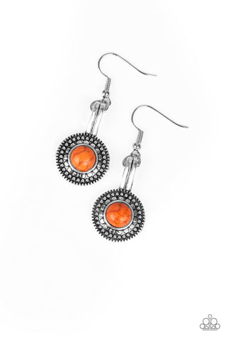 papparazzi- earrings Simply Stagecoach - Orange
