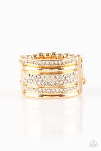 papparazzi ring Top Dollar Drama - Gold