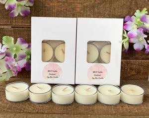 6 Pack Standard Tea Lights
