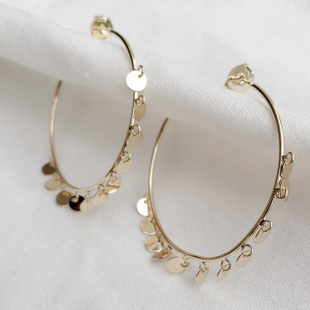 Zemira Hoops-Lucky Love Boutique