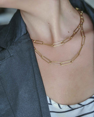 Emma Chain Necklace-Lucky Love Boutique