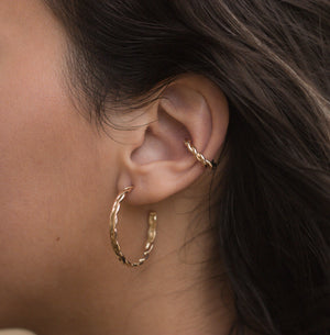 Braid Ear Cuff-Lucky Love Boutique