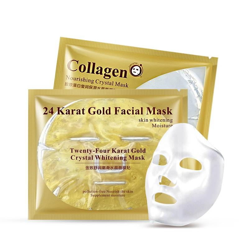 24K Gold Collagen Face Mask - cosmos-beauty
