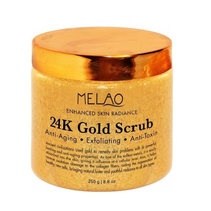 24K Gold Facial & Body Scrub - cosmos-beauty