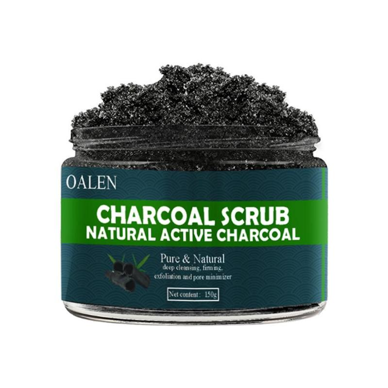 Charcoal Facial & Body Scrub - cosmos-beauty