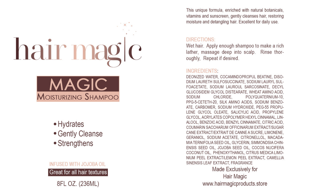 Magic Moisturizing Shampoo