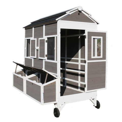 Zoovilla™ Townhouse Chicken Coop