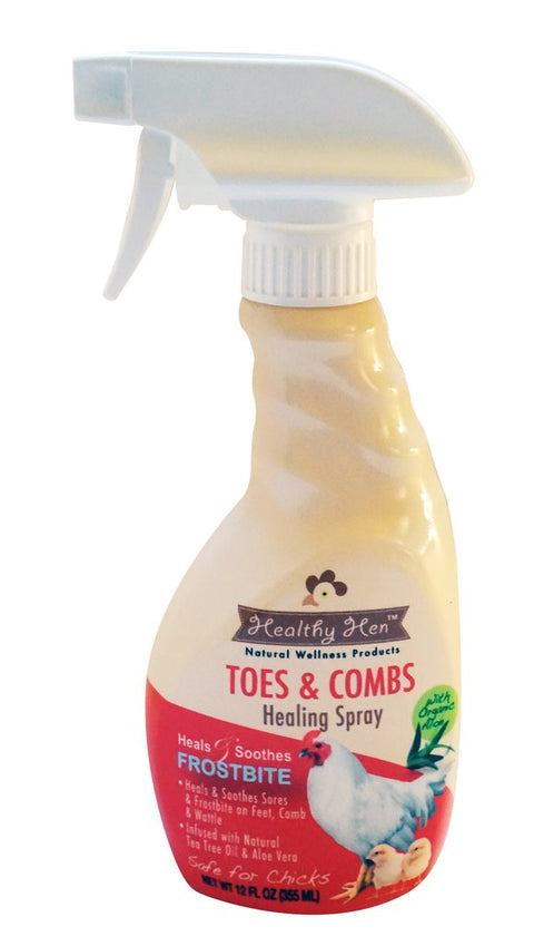 Healthy Hen™ Toes and Combs - Frostbite 12 oz. Healing Spray