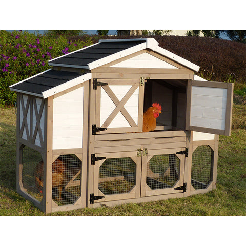 Zoovilla™ Country Style Chicken Coop