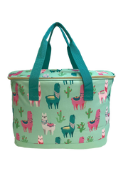 Fluffy Layers™ Llamas Canvas Insulated Cooler/Slow Cooker Carrier