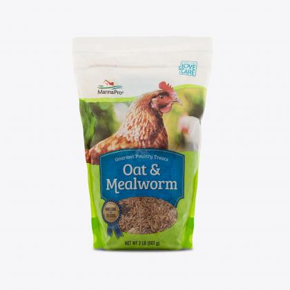 MannaPro® Oat & Mealworm Snack Blend, 2 lbs.