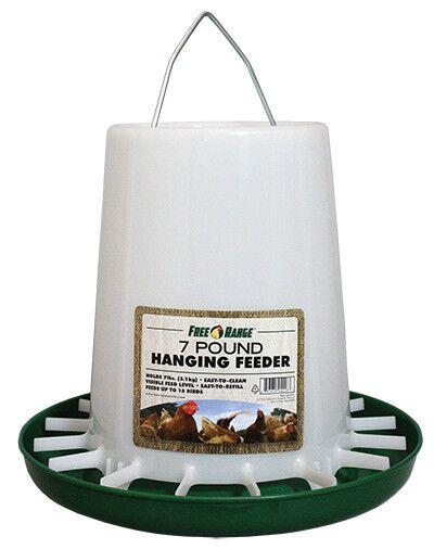 Harris Farms Plastic Hanging Poultry Feeder 7 Lb.