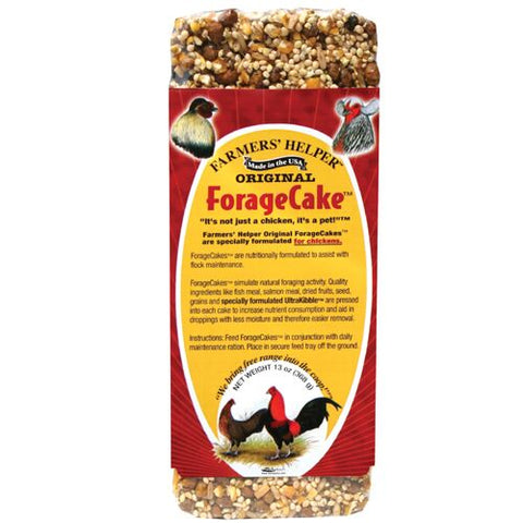 Farmers' Helper™ Original ForageCake™ Poultry Treats 13 Oz.
