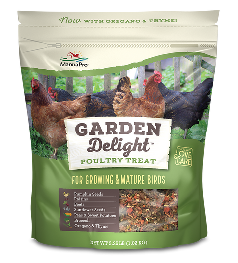 MannaPro® Garden Delight Poultry Treat 2.25 Lb.