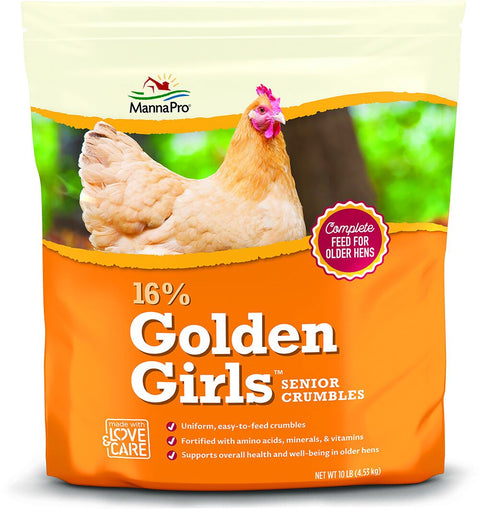 MannaPro® Golden Girls Senior Crumbles 10 Lb.