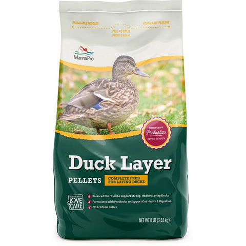 MannaPro® Duck Layer Pellets, 8 lbs.
