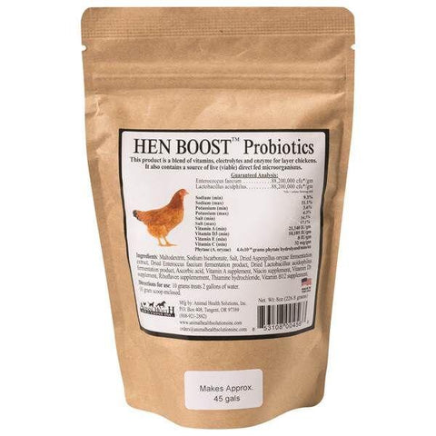 Animal Health Solutions Inc. Hen Boost™ 8 Oz.