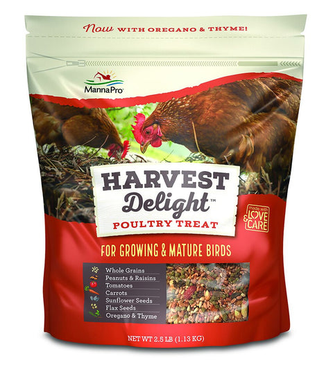 MannaPro® Harvest Delight Poultry Treat 2.5 Lb.