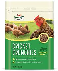 MannaPro® Cricket Crunchies™ Poultry Treat 5 Oz.