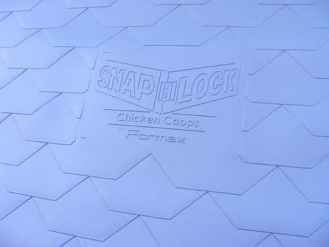 Large Snap-lock Chicken Coop