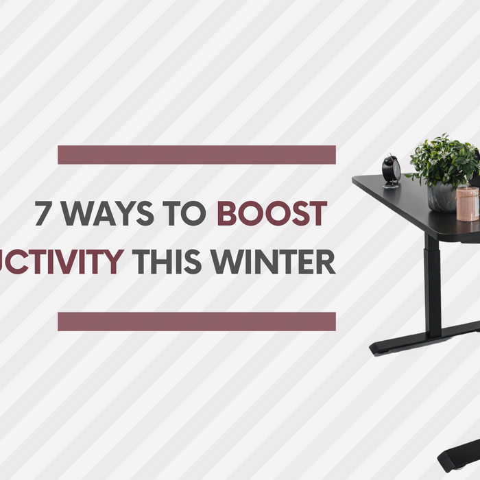 Learn how to be more productive in this winter with standing desk