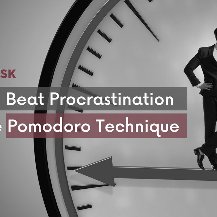 How to Beat Procrastination with the Pomodoro Technique - EFFYDESK Ergonomics Blog (Vancouver, B.C)