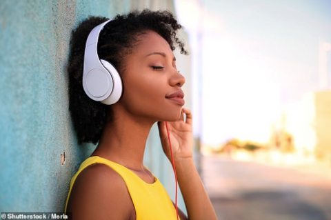 listen to your music playlists while you are working from home