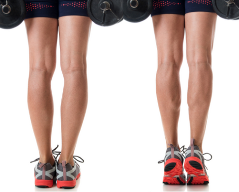 You can calf raises exercise if your standing desk