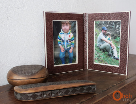 Pick your favourite photos and DIY Cardboard Photo Frames
