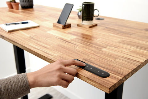 Eco-Friendly Standing Desk with memory sitting for your height adjust