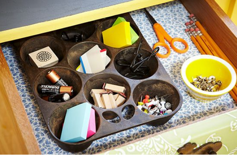 How to Organize Your Drawers - Home Office DIY - EFFYDESK Blog