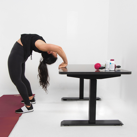 Stretches can help with back pain from your bad posture