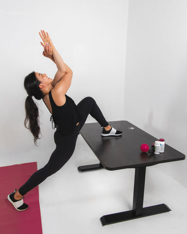 Increase Blood Circulation with Stretches at Standing Desk   9 Standing Desk Benefits for Your Productivity - EFFYDESK