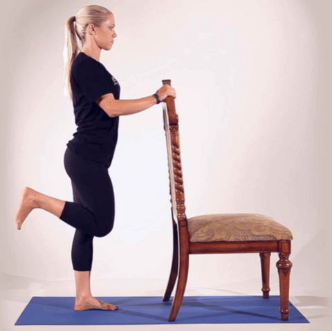Hamstring Curls is one of the exercises that you can do with electric desk
