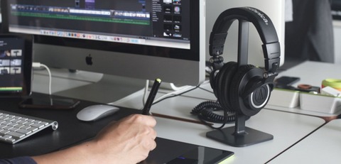 Headphone Stand - 15 Cool Gaming Accessories for Gamers Who Aim To Win