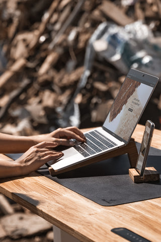 Eco-Friendly Laptop Stand and Eco-Friendly Standing Desk   Closed Loop Collection - EFFYDESK