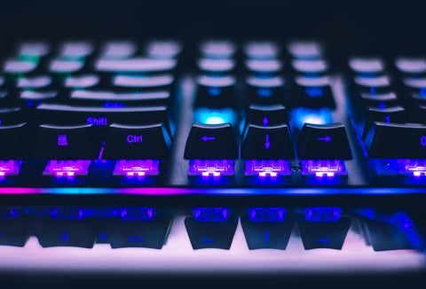 Mechanical keyboard is perfect for gaming player
