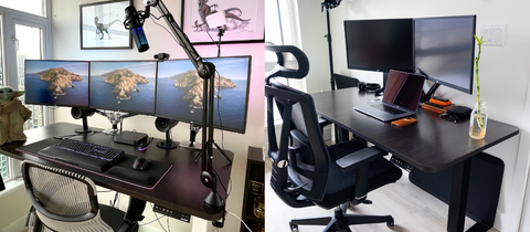 Sit-Stand Workstation Desk can help your reduce the possibility to get bad posture