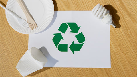 Start using recyclable materials to save the earth