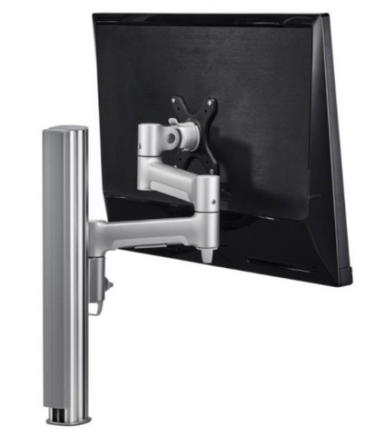 post desk mount is less expensive option for gaming monitor stand