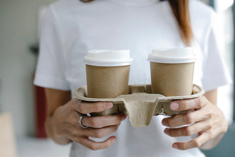 Single-Use Coffee Cup - How Does Recycling Reduce Carbon Emissions | EFFYDESK Blog