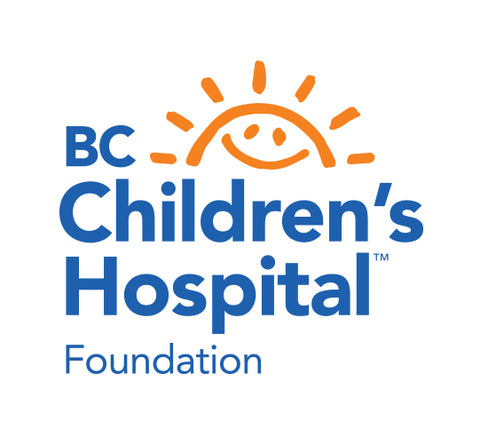 BC childrens hospital blue logo with yellow sun