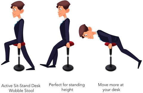 benefits of using wobble stool for your workplace