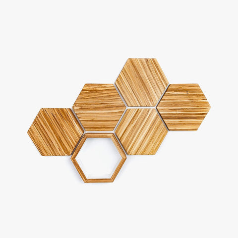 Eco-Friendly Wall Decor Set - Closed Loop Collection | EFFYDESK