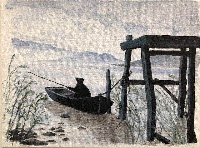 Fisherman (AH Signed Original)