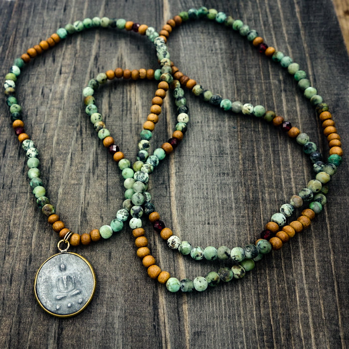"African Turquoise ""Love Beads"""