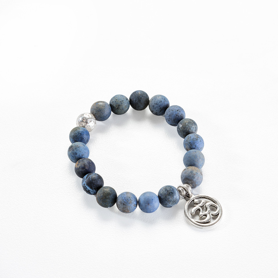 Ready for the Future - Sunset Dumortierite with Sterling Silver and Charm